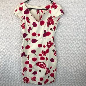 MILLY Floral Sheath Dress